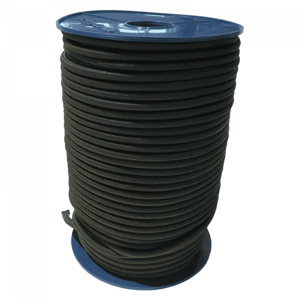 Expander Seil | Gummiseil | Expanderseile | Natogrün | 10mm | 100 Meter Rolle | Expander | Gummiseile |