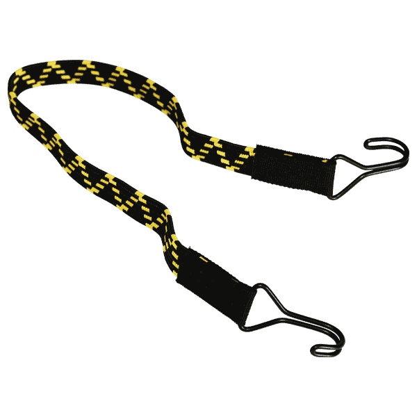 Flaches elastisches Band mit 2 Haken | Metallhaken | Expanderseil | Expander | Expandergummi | Spanngummi | Spanngummis