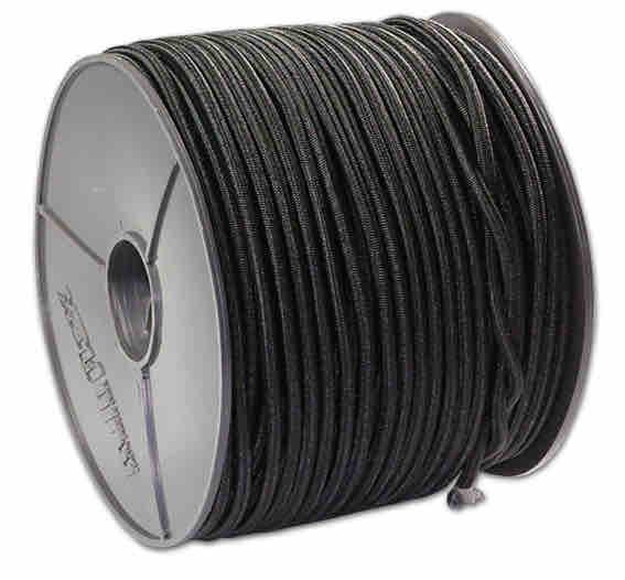 Expanderseil - Expanderseile 100 Meter schwarz - Durchmesser 8mm
