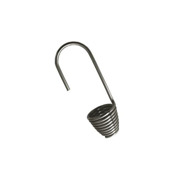 Spiralhaken aus Edelstahl für 8mm Expandergummi