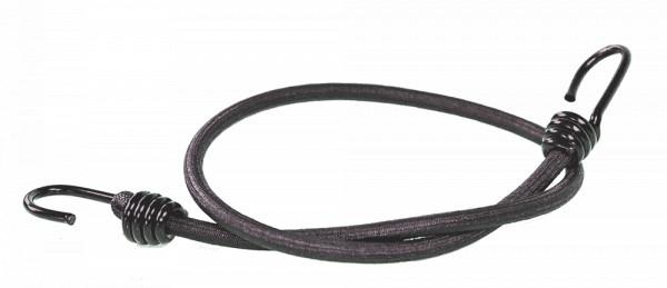 Expanderseil mit 2 Spiralhaken 1000mm 10mm | Ladungssicherung | Fahrradgummi | Gepäckgummi |