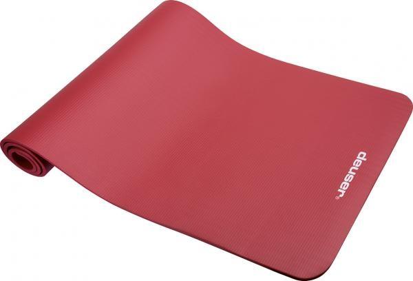 Fitnessmatte | Rot | 182 x 61cm | Schaumstoff |
