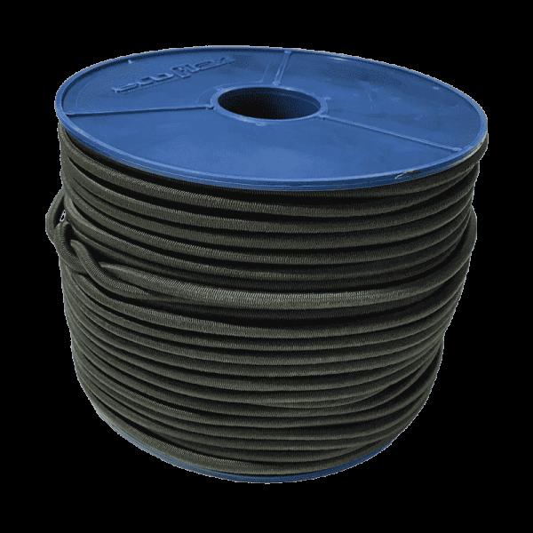 Expanderseil | Ecoflex | 6mm | Natogrün | Gummiseil | Spanngummiseil | Expanderseile | Expander Seile |
