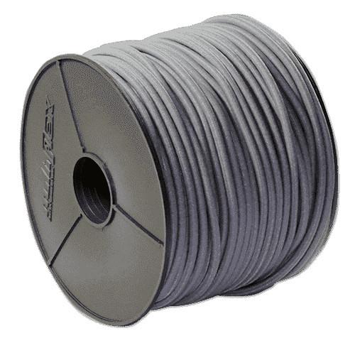 Expanderseil 6mm Grau ab 1 Meter | Gummischnur grau | Planenseil Meterware | Planengummi |