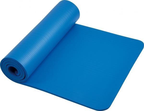 Fitnessmatte | Blau | 182 x 61cm | Schaumstoff |