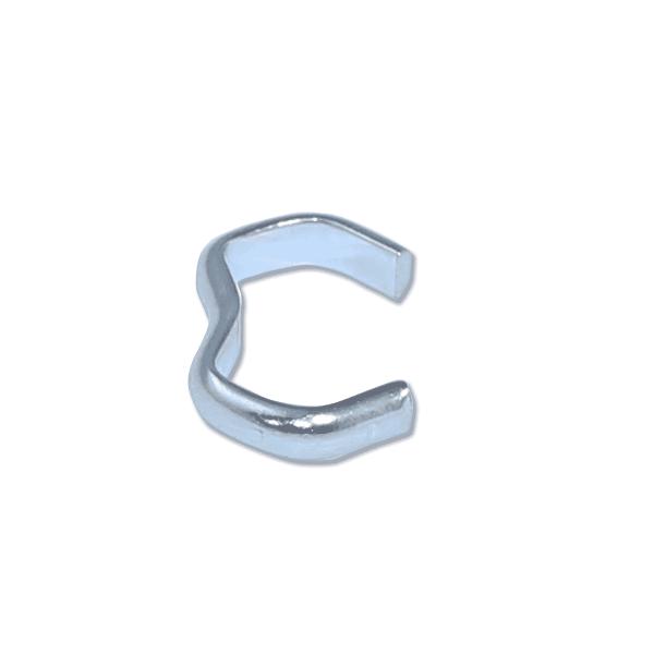 Stahlklammer verzinkt für Expanderseil 10mm