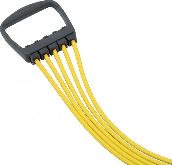 Expander | Gelb | 5 String | 10 - 50 kg | Fitness | Sport |